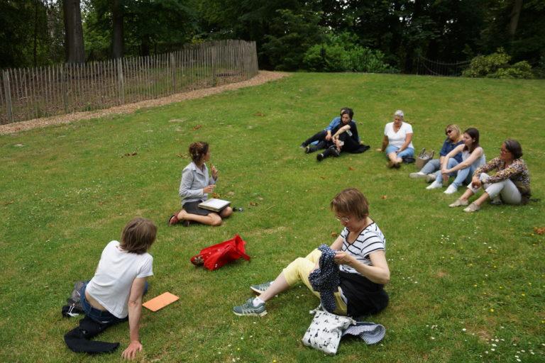 Teambuilding, Pause nature, balade racines et mots
