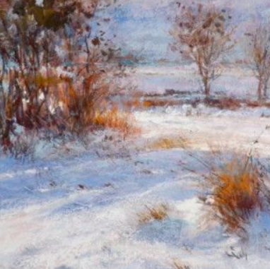 Pastels hiver