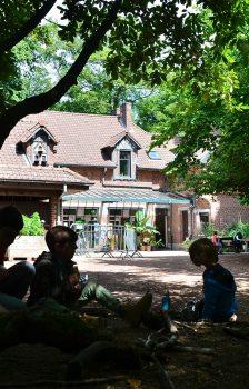 Centre régional d'initiation à l'écologie, boitsfort, maison, enfants, arbres